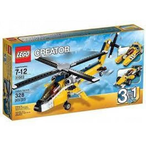 LEGO Creator - Yellow racing vehicles (31023)