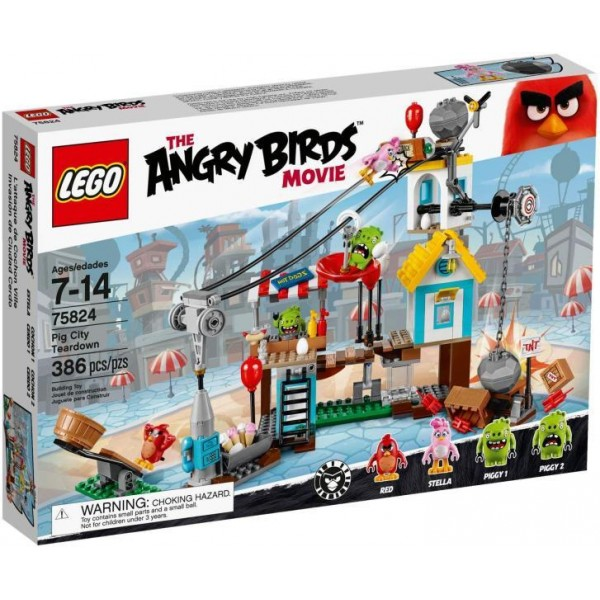 LEGO Angry Birds Pig City Teardown (75824)