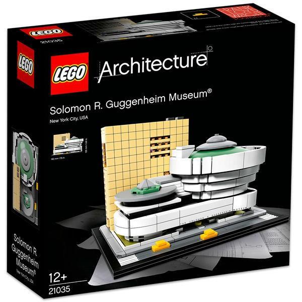 LEGO Architecture Museum Solomon R Guggenheim 21035