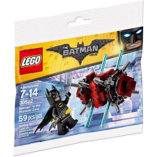 LEGO Batman in the Phantom Zone polybag (30522)