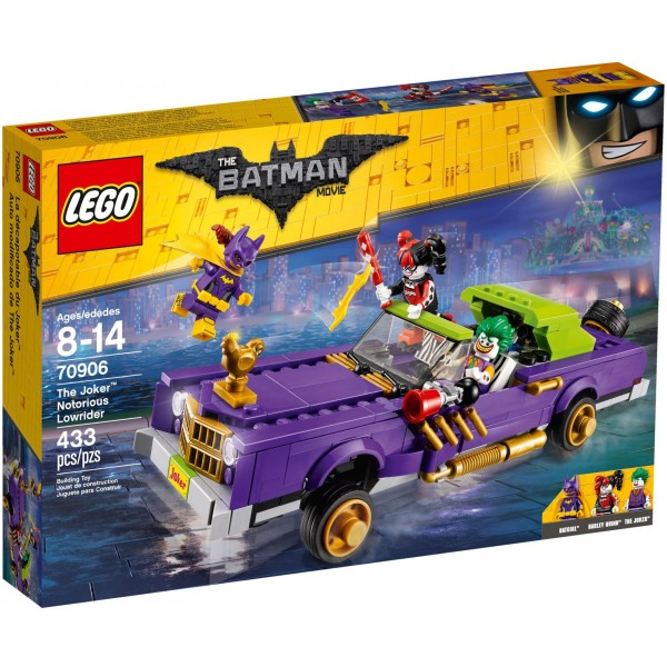 LEGO Batman Movie The Joker's Notorious Lowrider (70906)
