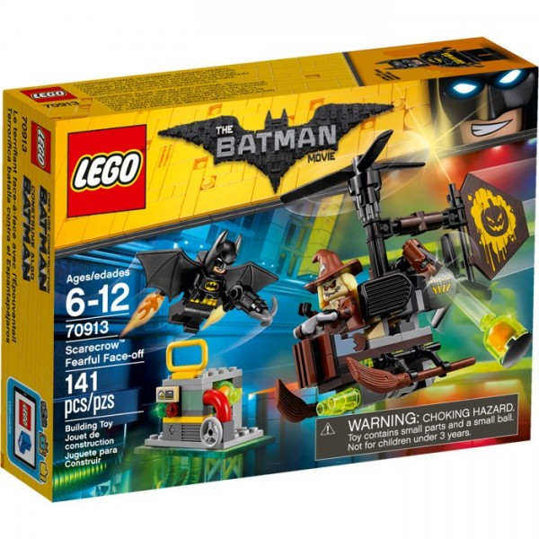 LEGO Batman Movie Terrible Confrontation with Scarecrow 70913