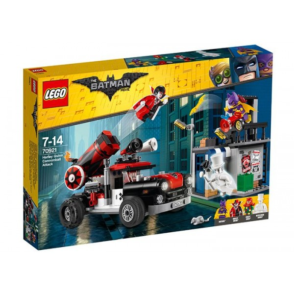 LEGO Batman Movie Harley Quinn Si Tunnel Attack (70921)