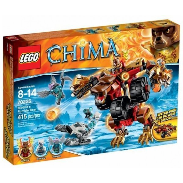LEGO Chima Bladvic's Rumble Bear (70225)