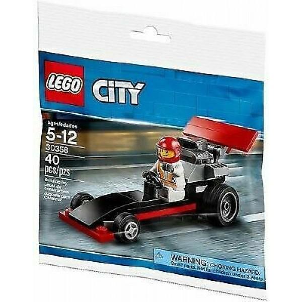 LEGO CITY Mini Dragster - 30358 (polybag)