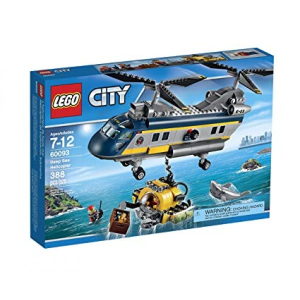 LEGO City - Helicopter for marine expeditions (60093)