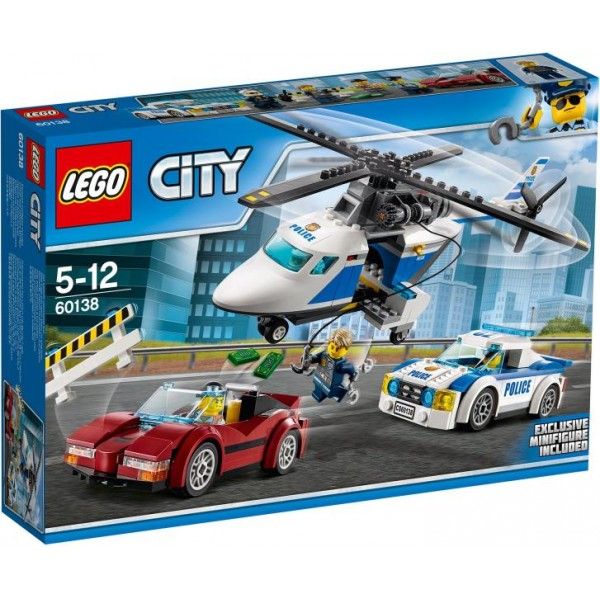 LEGO City Police High Speed Tracking (60138)