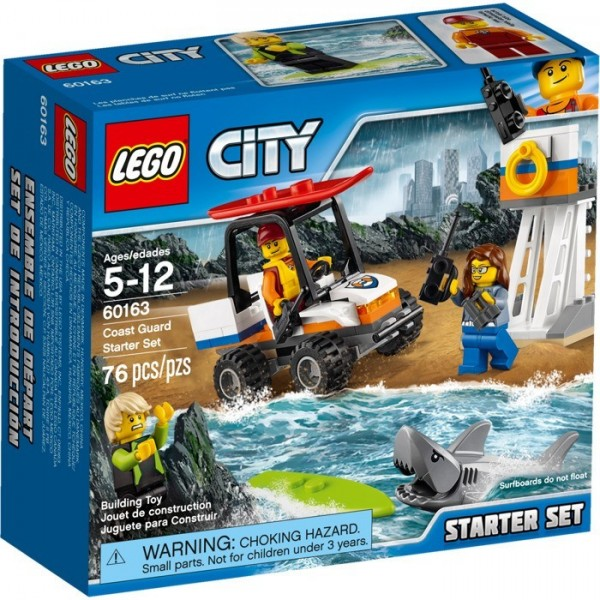 LEGO City Set For Beginners Coast Guard 60163