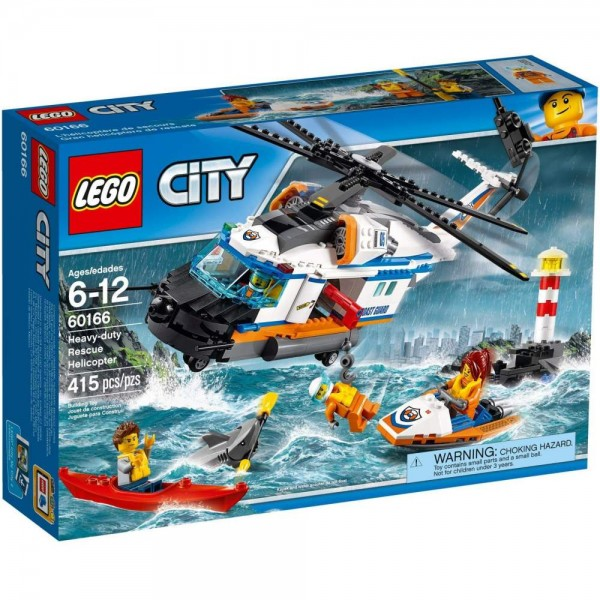 LEGO City Rescue Helicopter For Heavy Conditions 60166