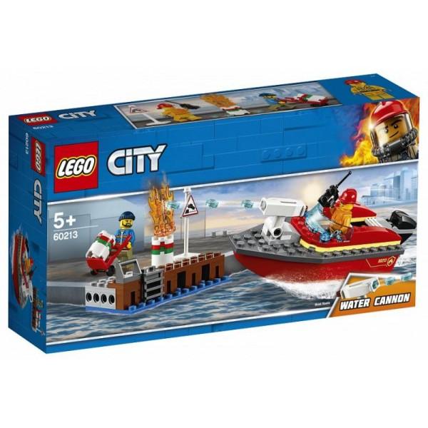 LEGO City - Fire from Docks (60213)