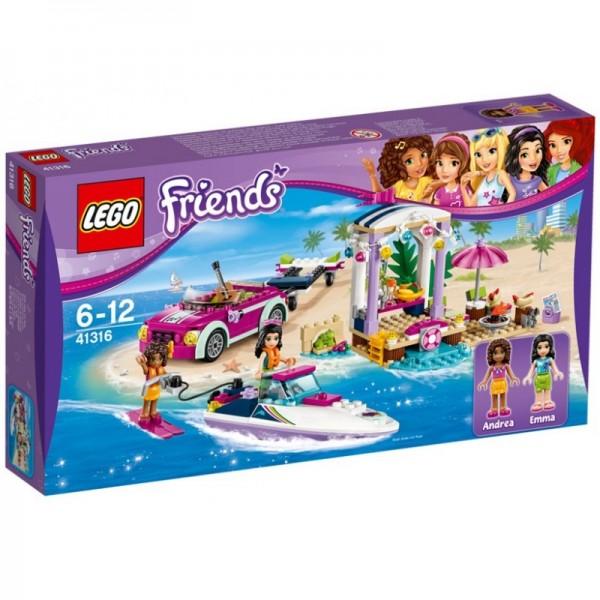LEGO Friends Boat Conveyors Andreea Motor 41316