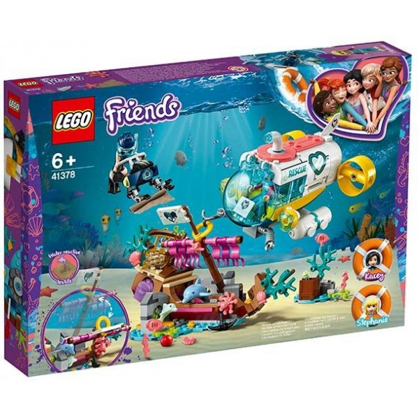 LEGO Friends - Dolphin Rescue Mission (41378)