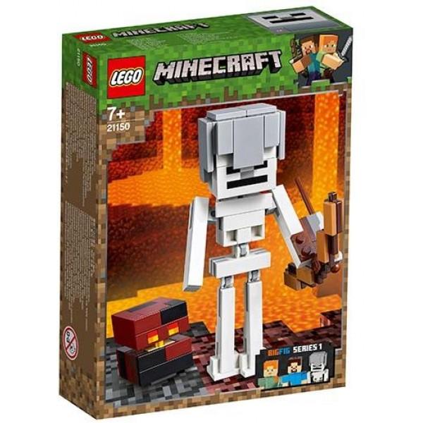 LEGO Minecraft - BigFig Skeleton and Magma Cube (21150)