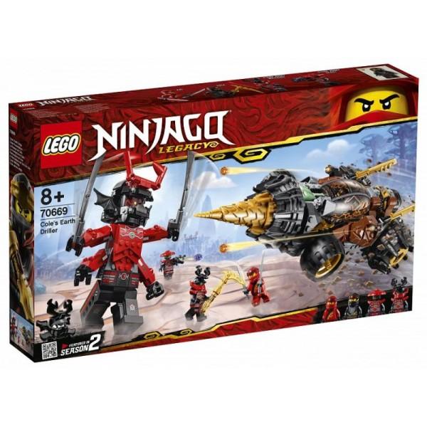 LEGO Ninjago - Cole's Earth Force (70669)
