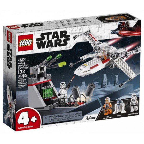LEGO Star Wars - X-Wing Starfighter Running Trench (75235)