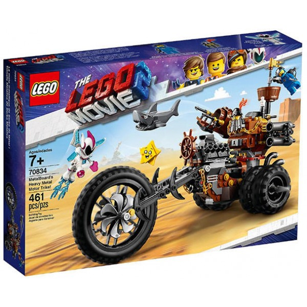 LEGO The LEGO Movie - The Metal Beard Tricycle (70834)