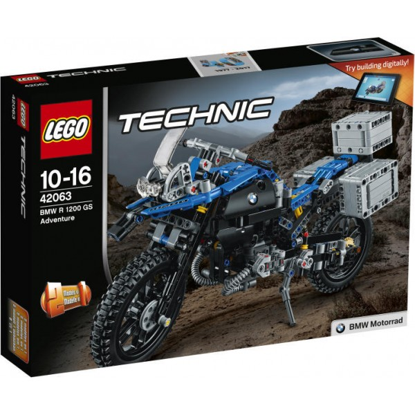 LEGO Technic BMW R 1200 GS Adventure (42063)