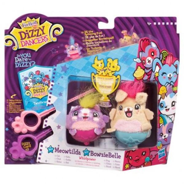 Hasbro FurReal Dizzy Dancers Meowtilda and  Bowziebelle 51657
