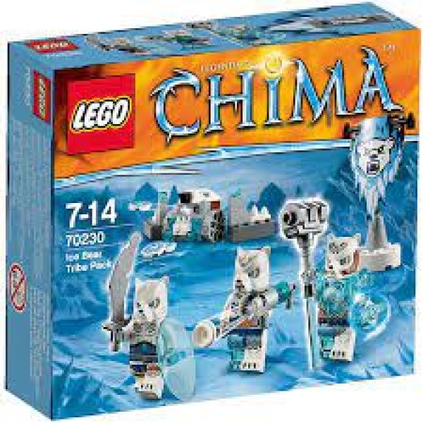 LEGO Chima Ice Bear Tribe (70230)