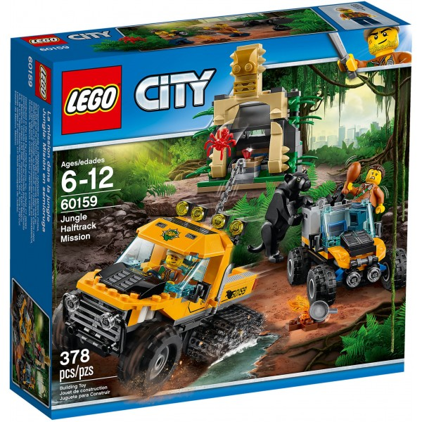 LEGO City Self-Armored Jungle Mission 60159